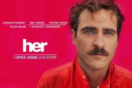 HER nominated for 5 Academy Awards including Best Original Screenplay