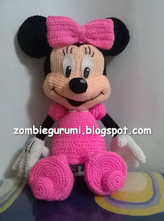 Minnie amigurumi