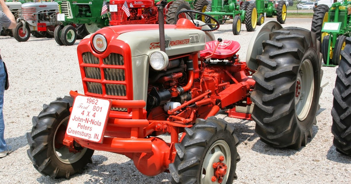 Ford 801 Parts : View from the porch ford powermaster tractor