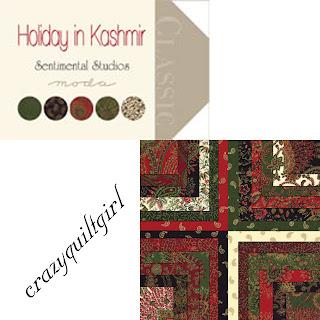 Moda HOLIDAY IN KASHMIR Christmas Fabric by Sentimental Studios