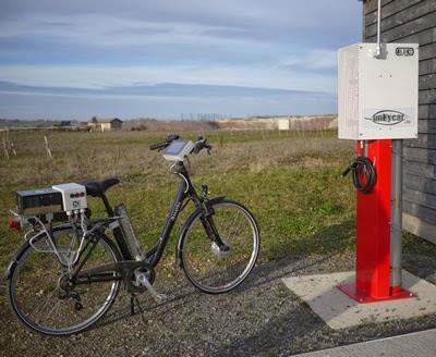 vélo avec pile à combustible