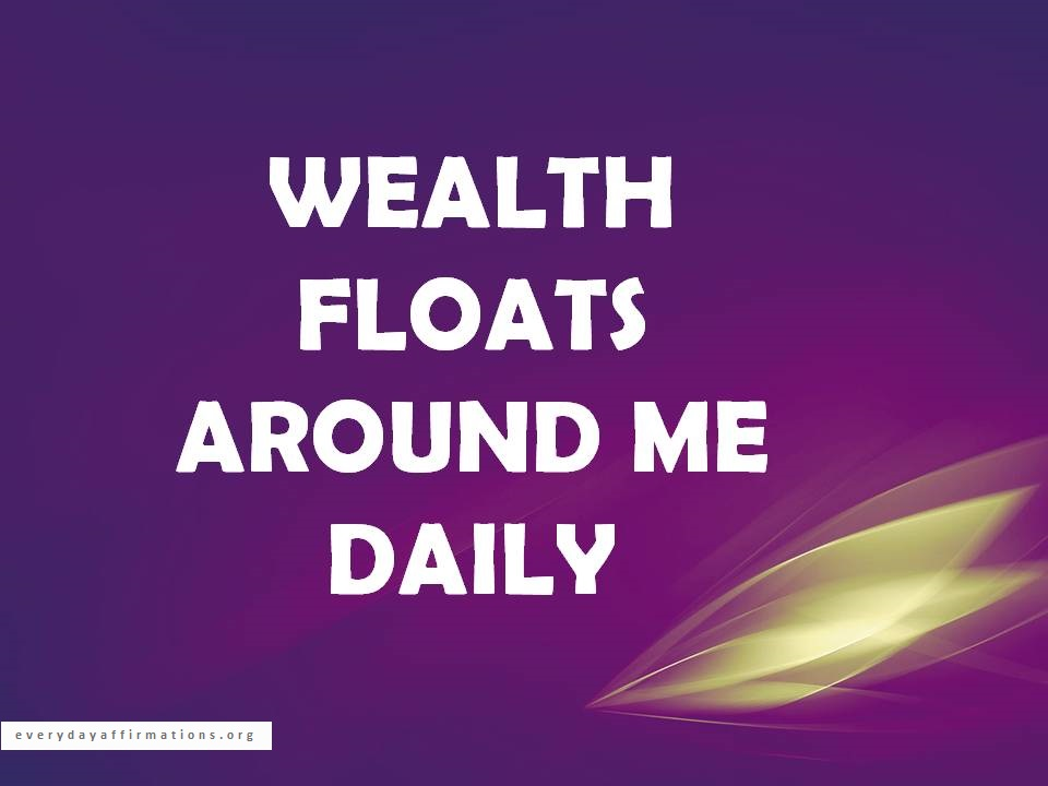 34 Affirmations for Wealth and Prosperity | Everyday Affirmations