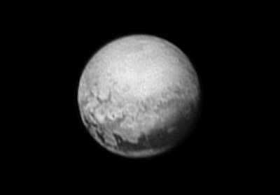 Pluto from 6 Million KM. NASA