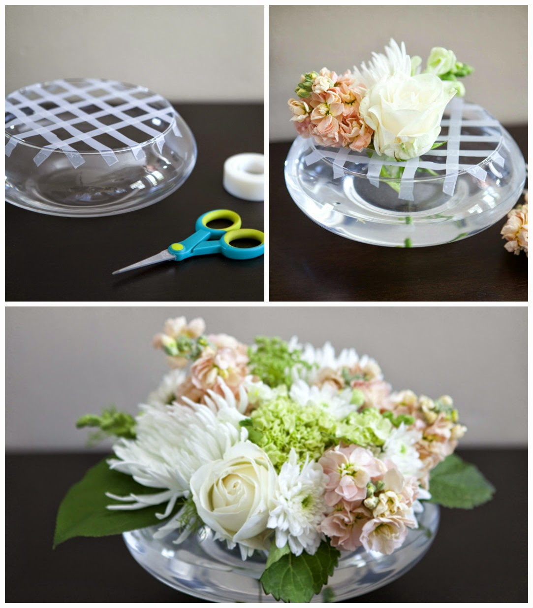 http://somethingturquoise.com/2011/08/12/diy-flower-arrangement/