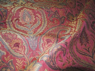 Northwood, lacquer, fabric, jacquard woven
