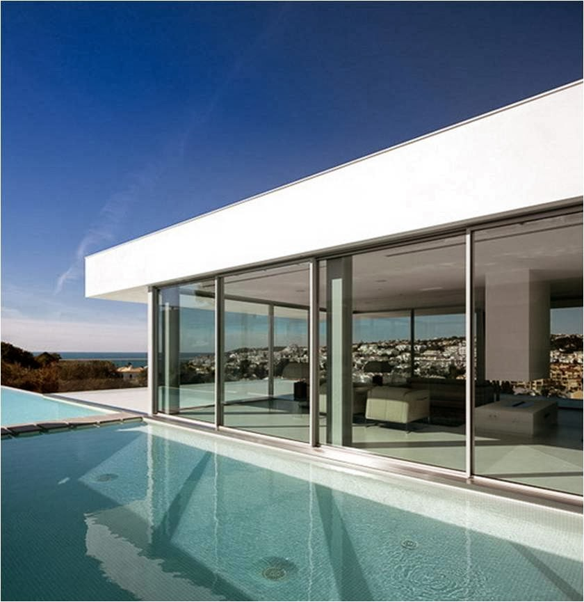 THINKING OF COLORS - Architecture & Design: VILLA ESCARPA DE MARIO ...