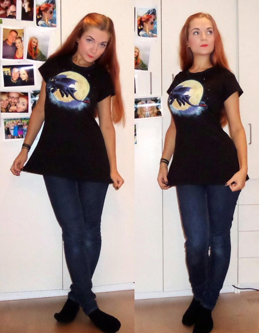 [Nähen] RUMS - Toothless Shirt