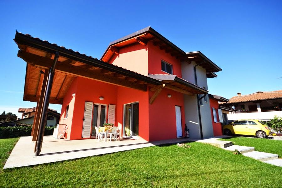 BIOEDILIZIA & CASE PREFABBRICATE ECOLOGICHE: Villa B.F.