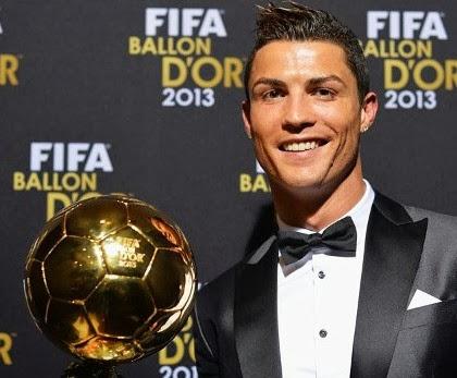 Cristiano Ronaldo Balón de Oro 2013