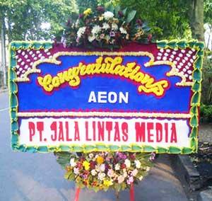 Bunga Papan Pembukaan Mall AEON Sentul City Bogor