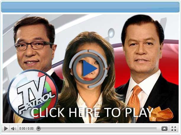 TV Patrol - Pinoy Show Biz  Your Online Pinoy Showbiz Portal