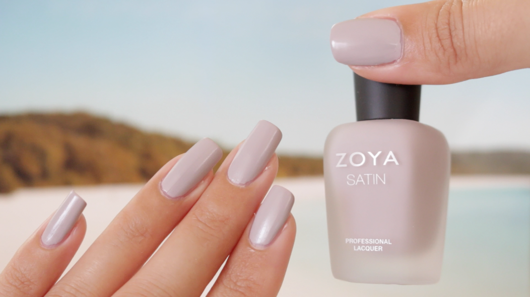 Zoya Leah Satin Swatches