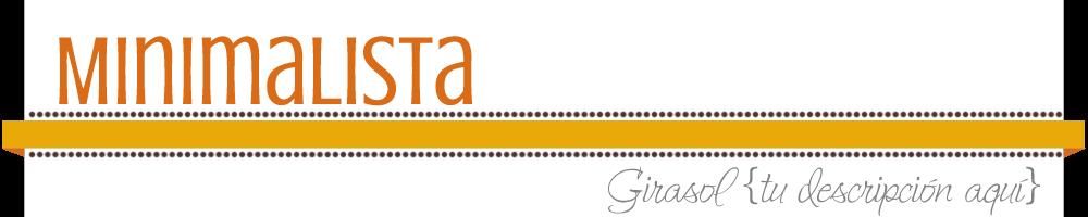 Minimalista Template de BlogDesign.es