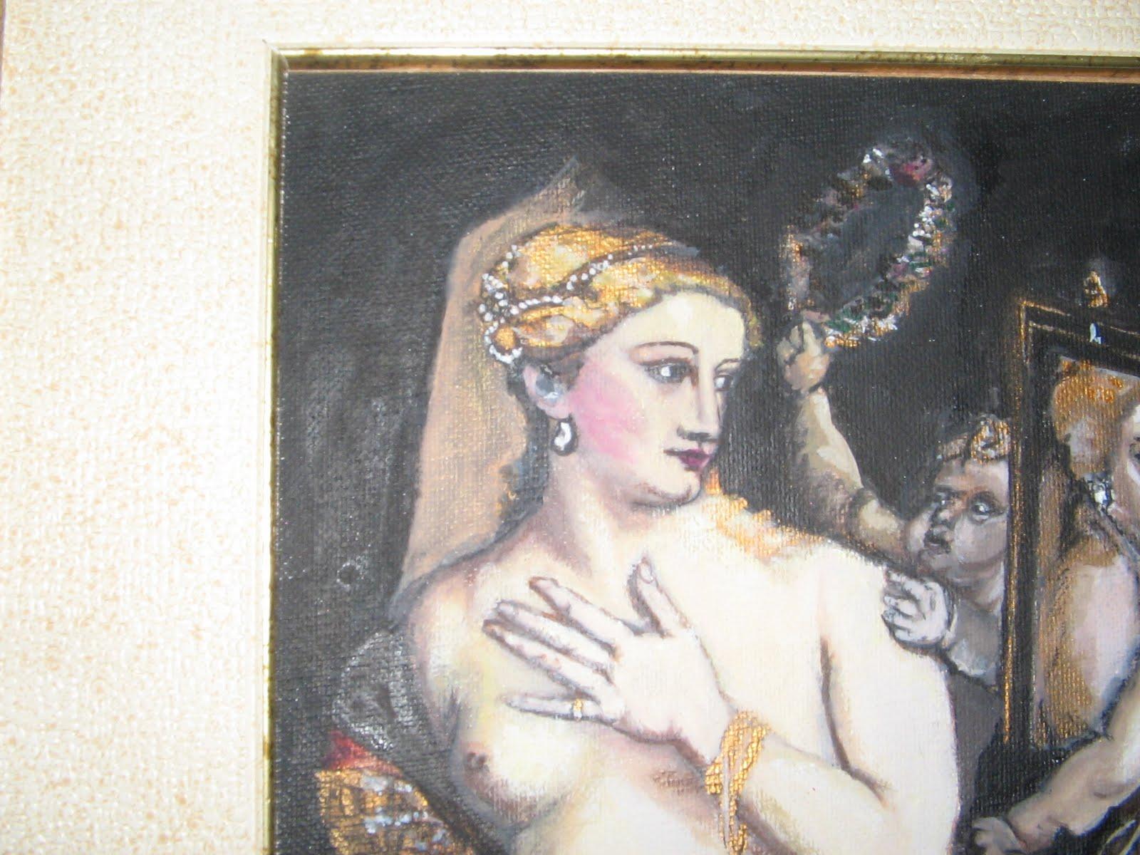 La casa nei platani ode a tiziano la venere allo specchio - Venere allo specchio ...