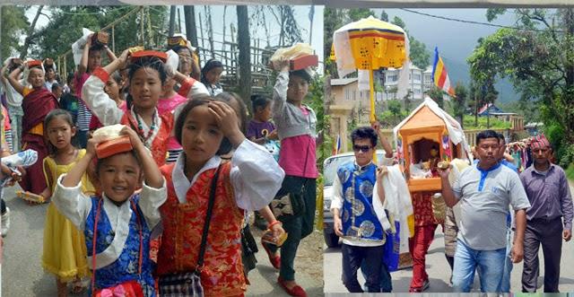Mungpoo celebrates 2559th Buddha Jayanti