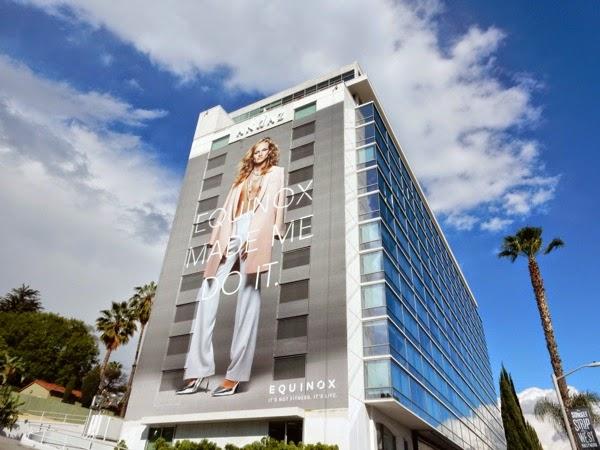 Equinox transgender billboard Andaz Hotel