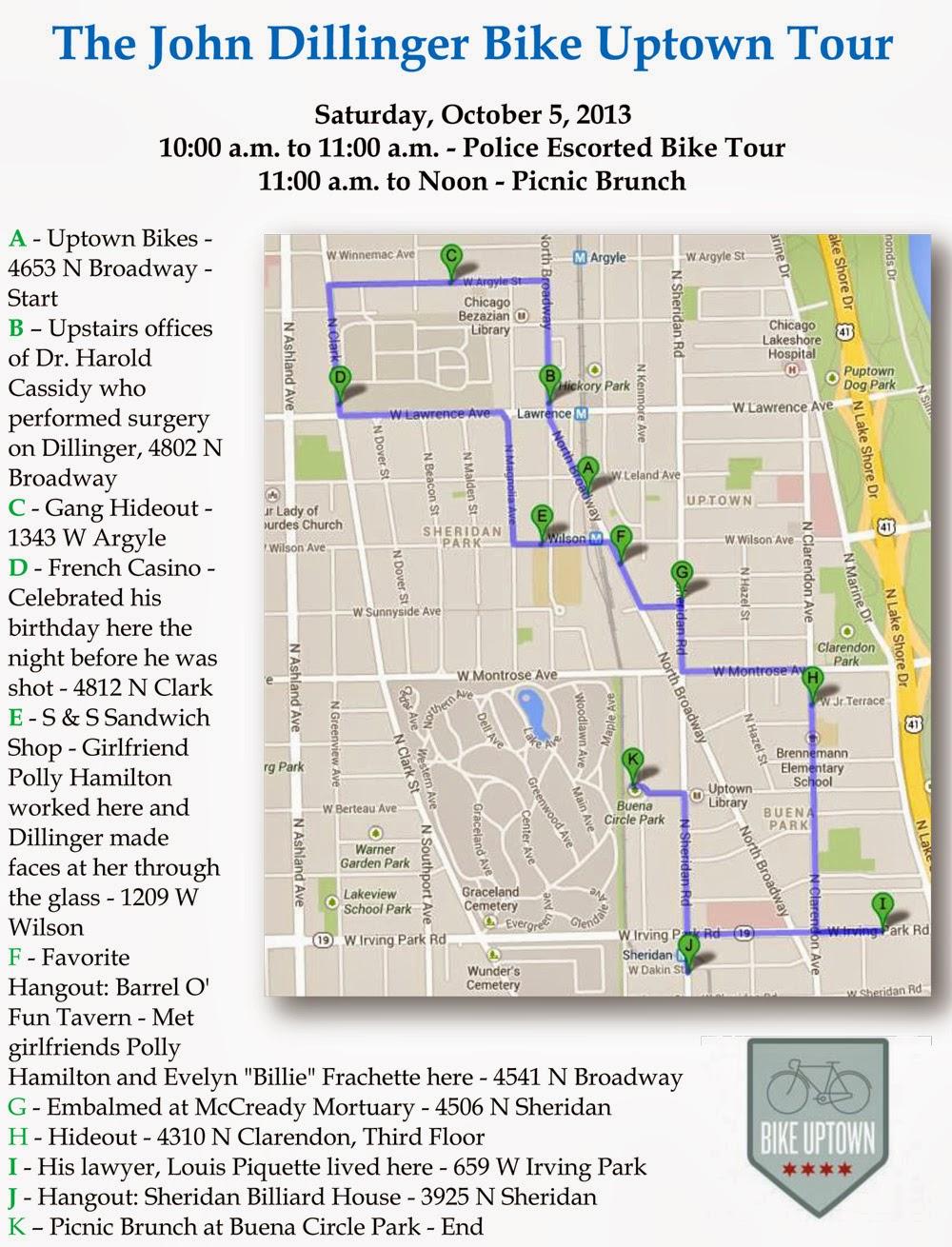 Uptown Update September - Map of chicago dog parks