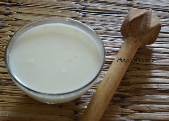 Buttermilk skin and hair benefits