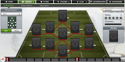 FUT 13 Formations - 4-5-1 - FIFA 13 Ultimate Team