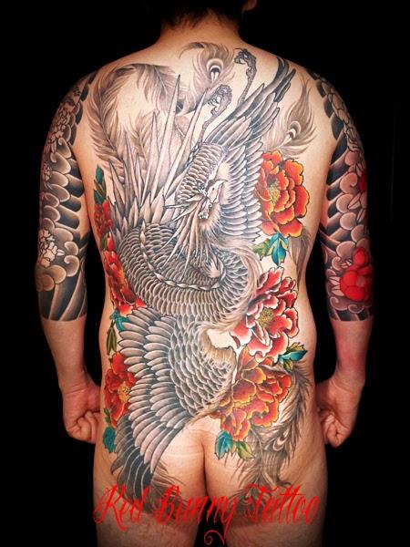 刺青 和彫 鳳凰