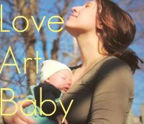 balancing love art and baby