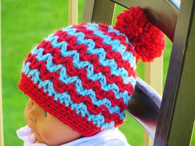 Free Crochet Beanie Pattern - Beginner Crochet Patterns