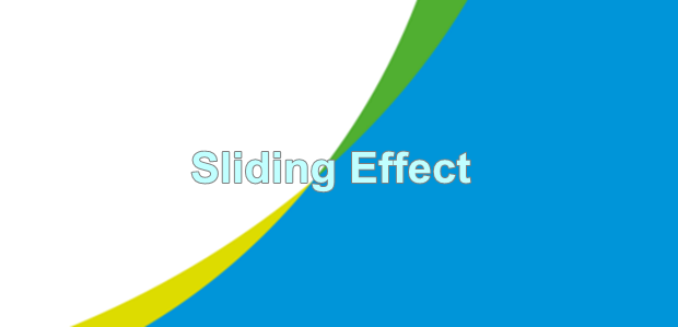 Slidding Effect Loading