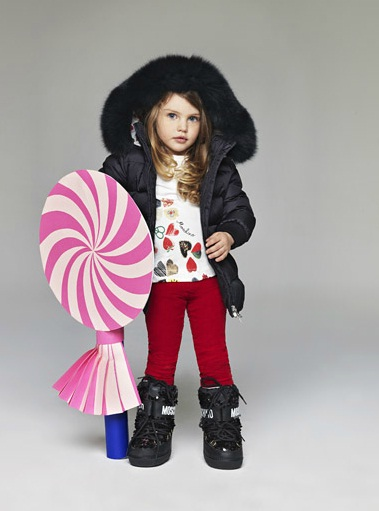 Moschino Herbst Winter Kollektion 2013 (Teil 1)