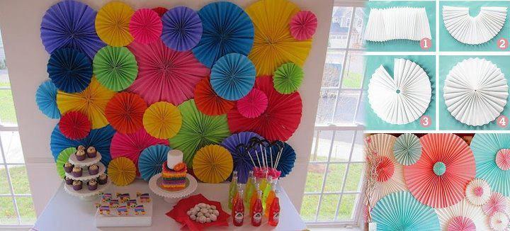 El detalle que hace la diferencia papel adornos for Decoracion de globos para fiestas infantiles paso a paso