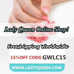 Lady Queen 15% Off coupon code (GWLC15)