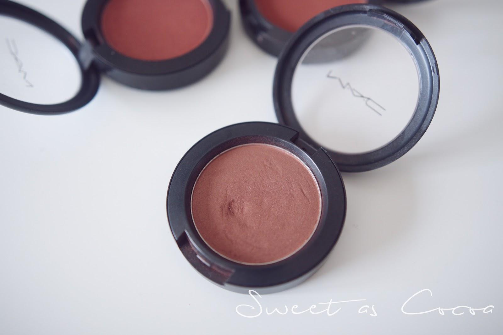 Mac blushes for Darker skin tones | Dimma Umeh | Nigerian beauty ...
