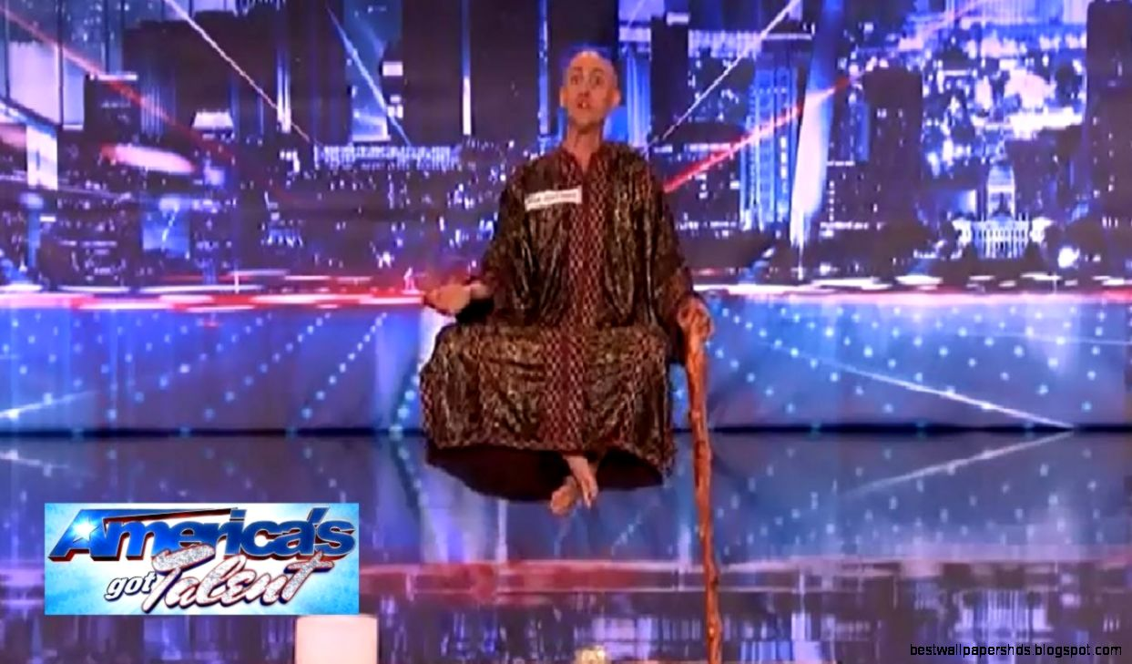 America39s Got Talent 2013   Special Head Levitates and Shocks the