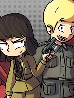 Anh Hans và cô nàng soviet