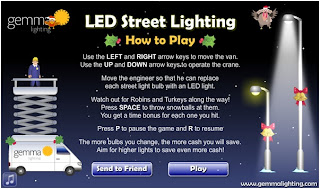 Gemma Lighting LED Street Lighting game