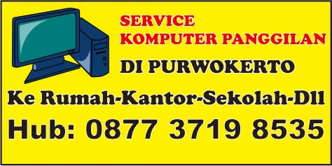 Service Komputer di Purwokerto