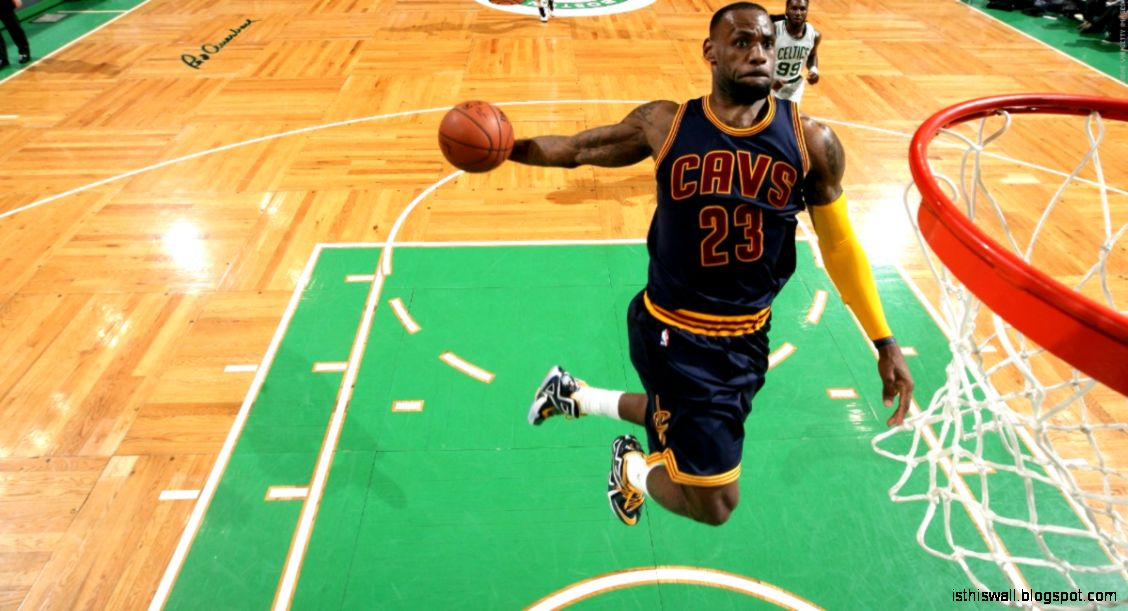 Dunk of the Night LeBron James