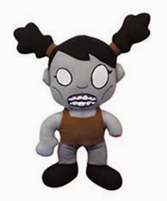 Peluche Chica Zombie