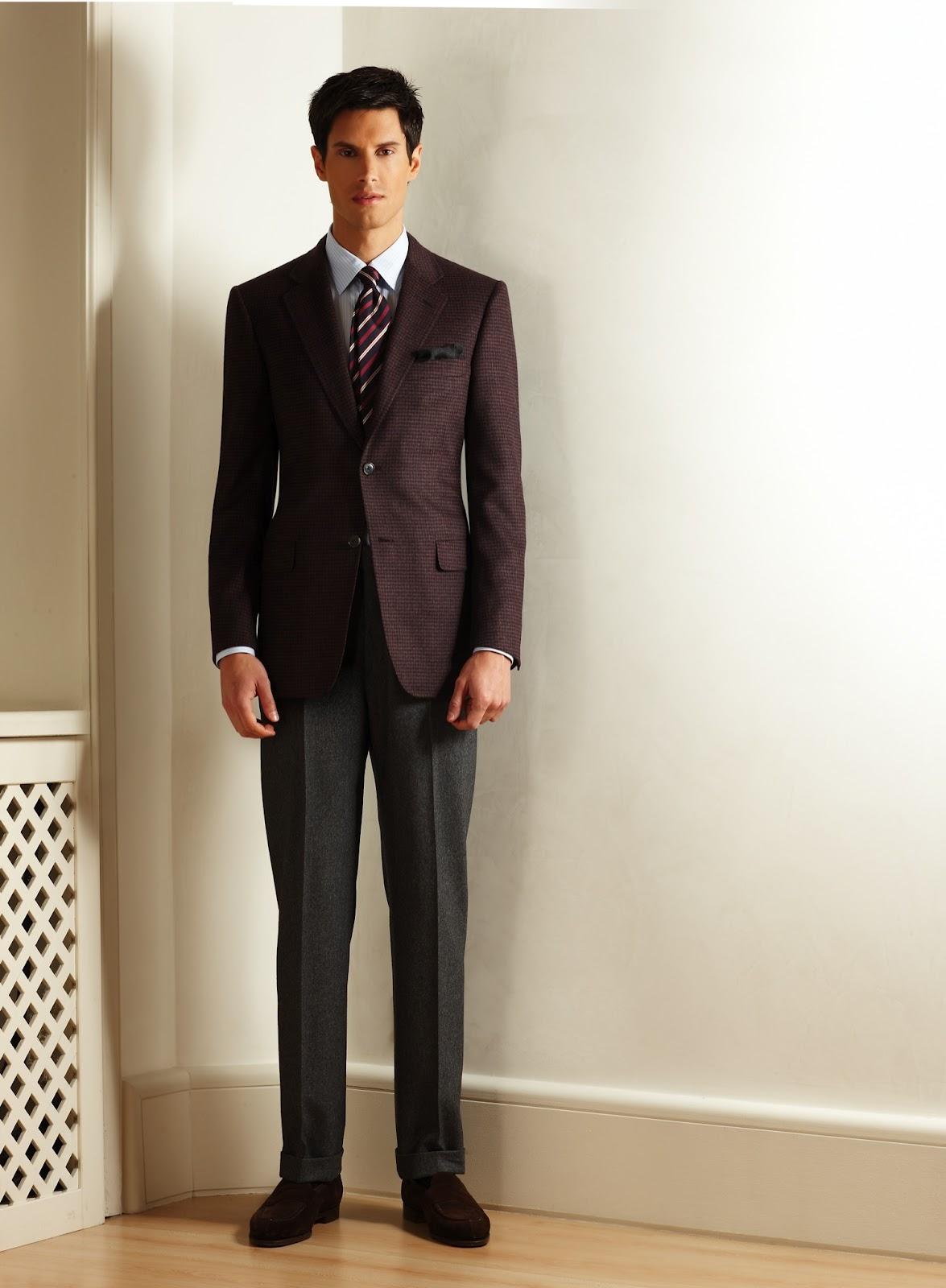Bernhard Roetzel Stilblog Sakko Und Hose Der Kombinierte Anzug