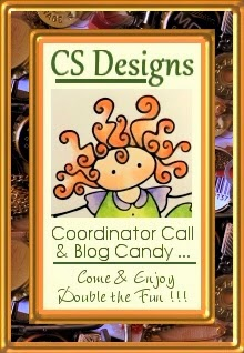 CS Designs Coordinator Call & Blog candy