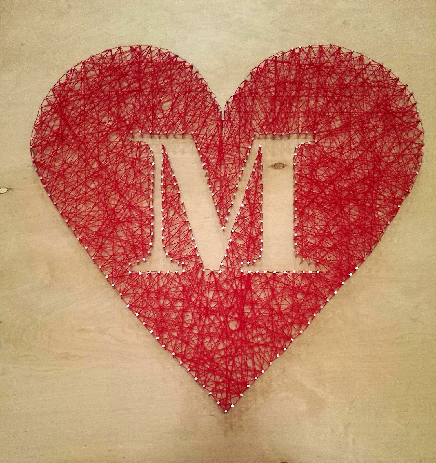 The adventures of mrs mayfield diy string art heart tutorial string art heart tutorial by mrs mayfield baditri Image collections