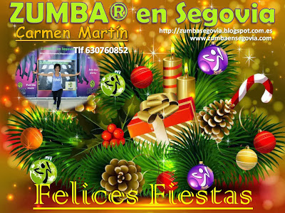 feliz navidad 2013 zumba en segovia