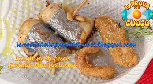 Ricetta involtini di pesce sciabola