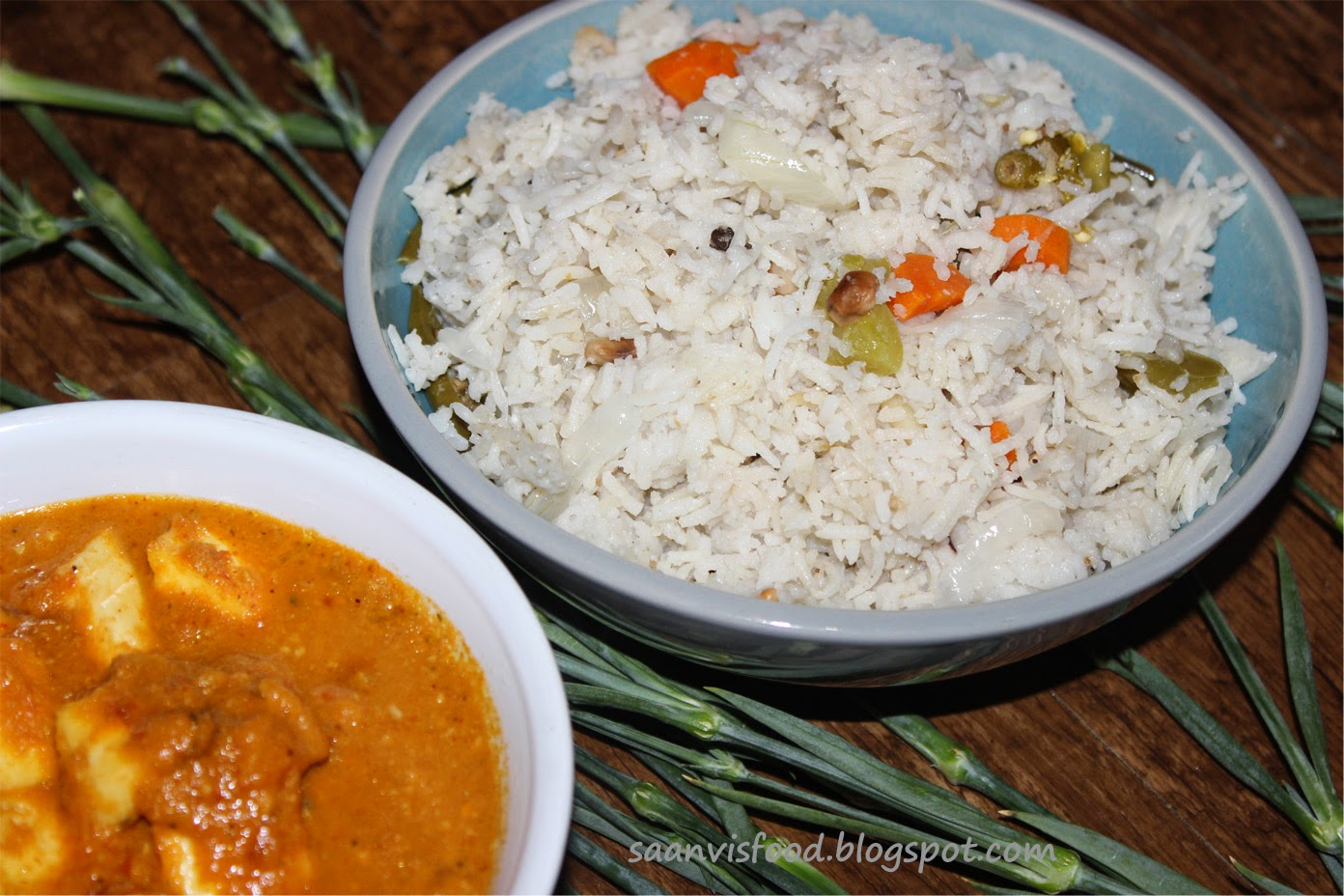 Kobbari Annam / Coconut Milk Rice