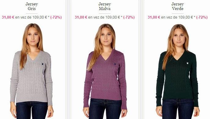 Tres ejemplos de jerséis para chica que puedes comprar dentro