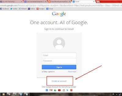 Cara Cepat Membuat Email Gmail di Google