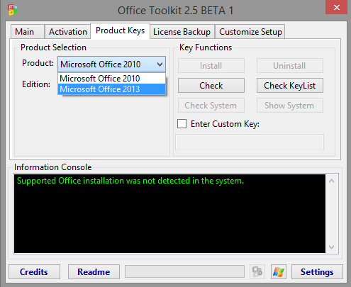 Descargar Microsoft Toolkit 2.5 Beta 1 Activador de WINDOWS 8.1 Y