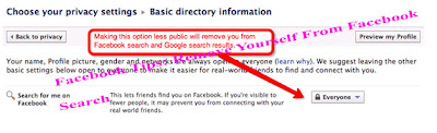 Facebook Tips: Remove Yourself From Facebook   Search