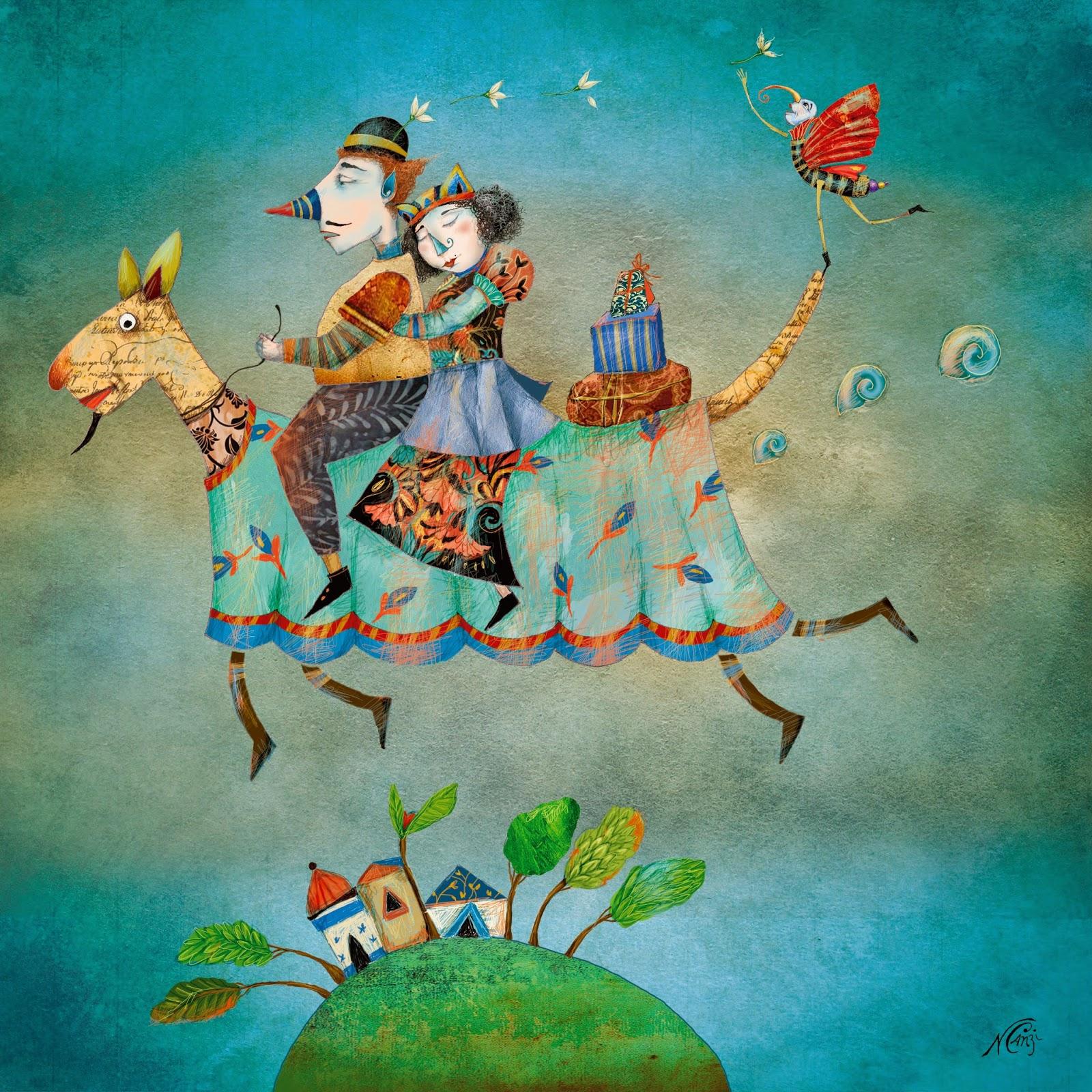 Nerina canzi ilustraciones viaje a mumpur - Ilustraciones infantiles antiguas ...