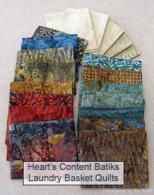 Hearts Content Batiks
