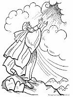 Mewarnai Gambar Do'a Yesus Kristus Untuk Kebaikan Seluruh Umat Kristiani
